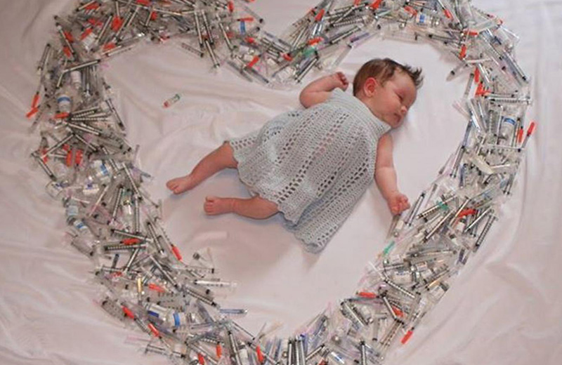 أسميت تجربتي مع الحمل: جرعة من الحب!