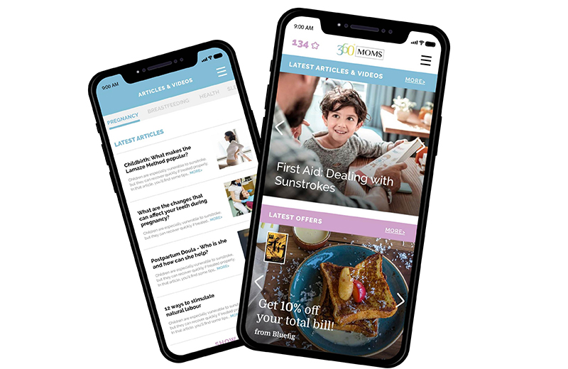360Moms announces the release of their mobile application