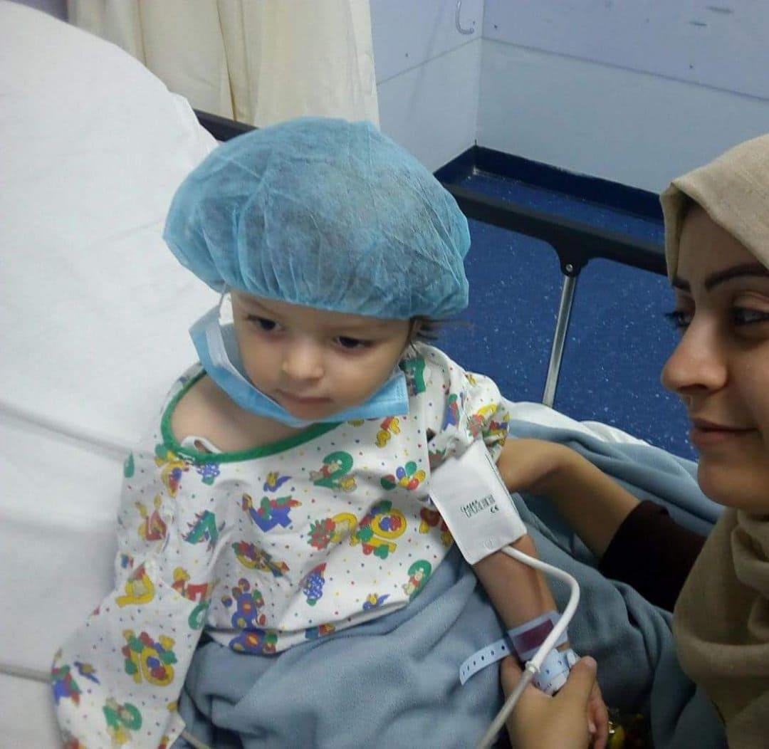 مرض نادر سلب مني طفلي يارا وإلياس