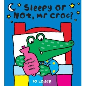 Entertaining stories for kids: Sleepy or not Mr.Croc