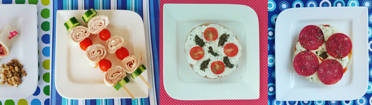 ١٠ أفكار سهلة لوجبة غداء أطفالك للمدرسة