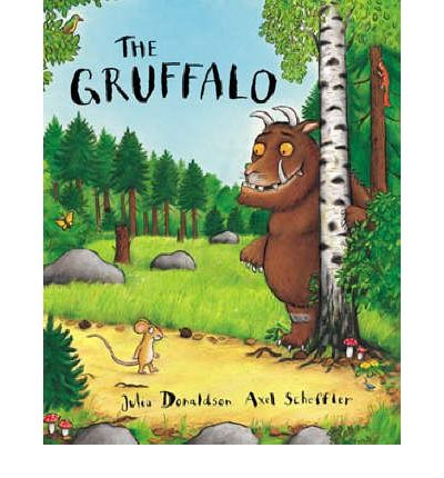 قصة الوحش غروفالو للأطفال الصغار