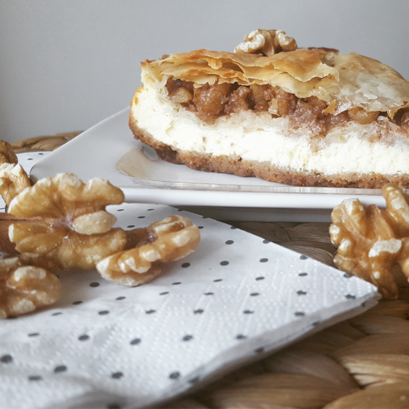 How to make Delicious Baklava Cheesecake?