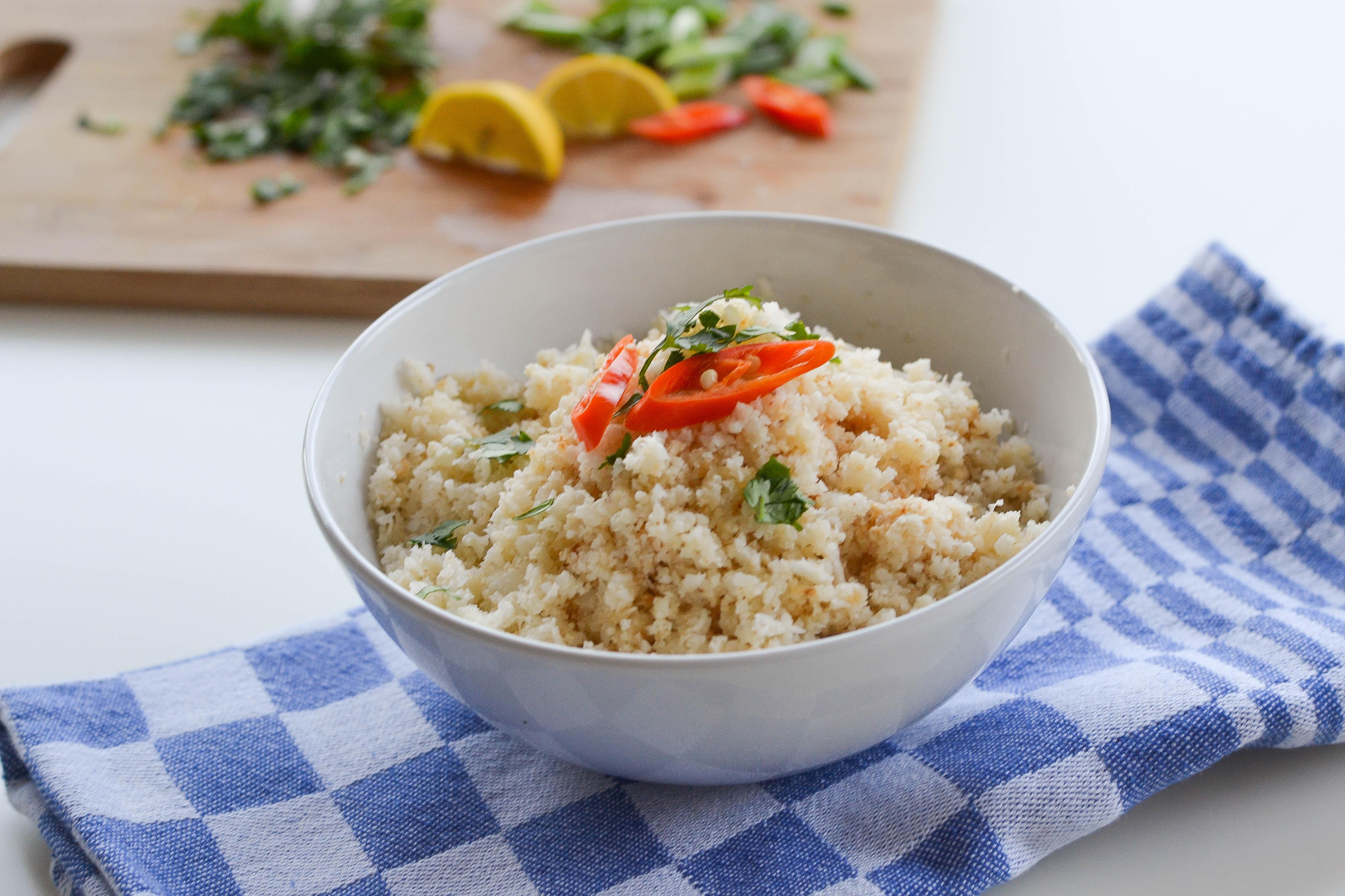 How to Make Cauliflower Rice?