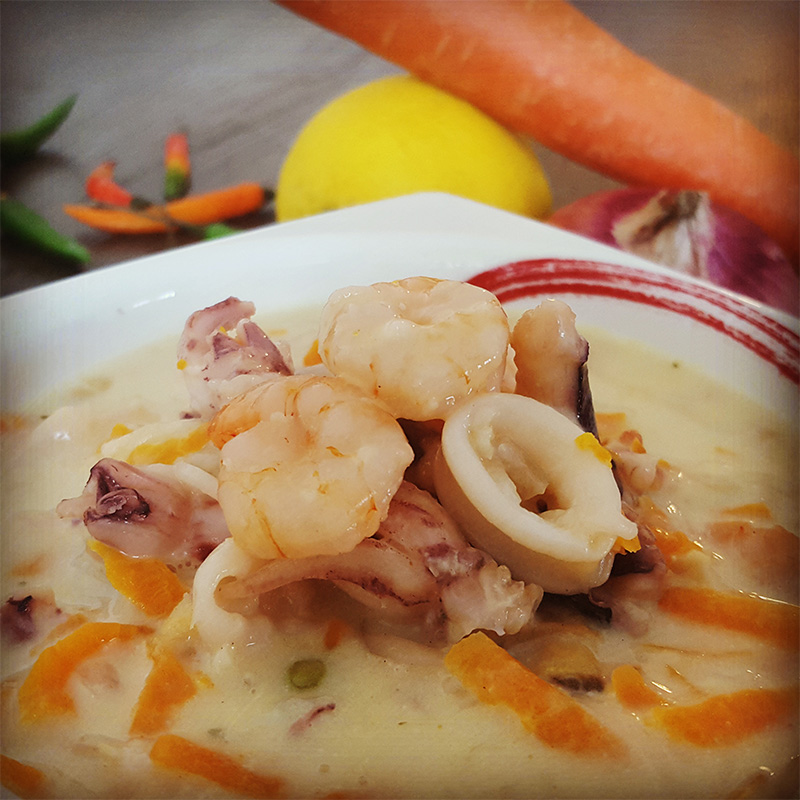 How to make delicious Seafood Soup ?