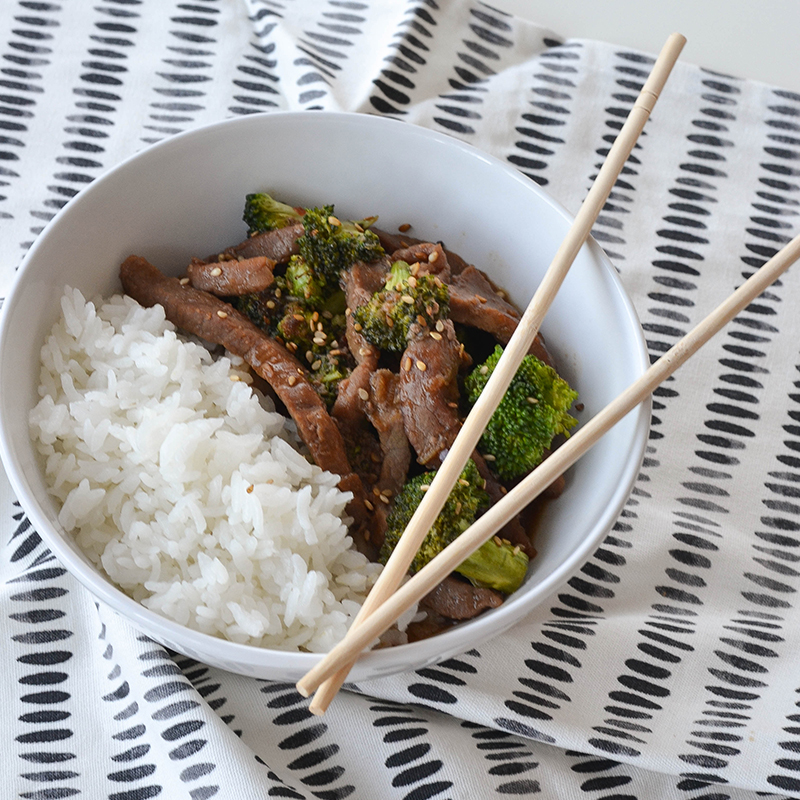 How to make Beef and Broccoli Stir-fry Bowl?