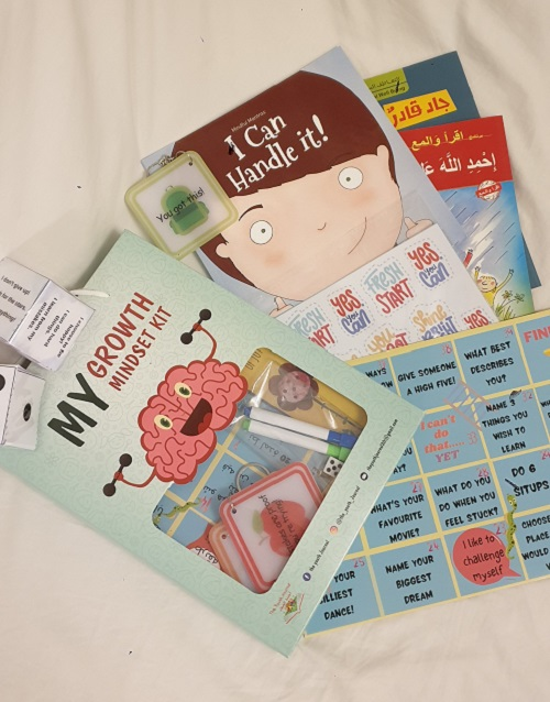 The growth mindset kit and books