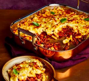 Macaroni Cheese lasagne