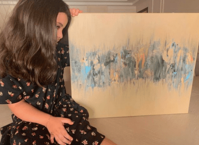 Girl Gone Viral: 4-year-old painter shows how it's done