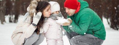٥ نصائح للسفر مع أطفالك في فصل الشتاء