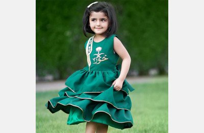 10 أفكار لإطلالات الأطفال في اليوم الوطني السعودي