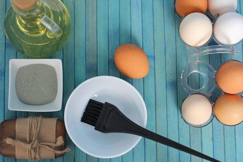 فوائد استخدام البيض لشعر صحي ولامع