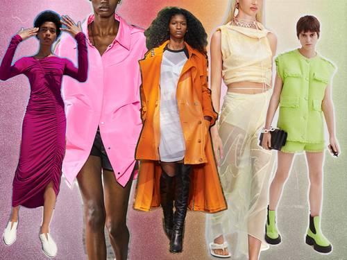 آخر صيحات لألوان أزياء ربيع وصيف 2021