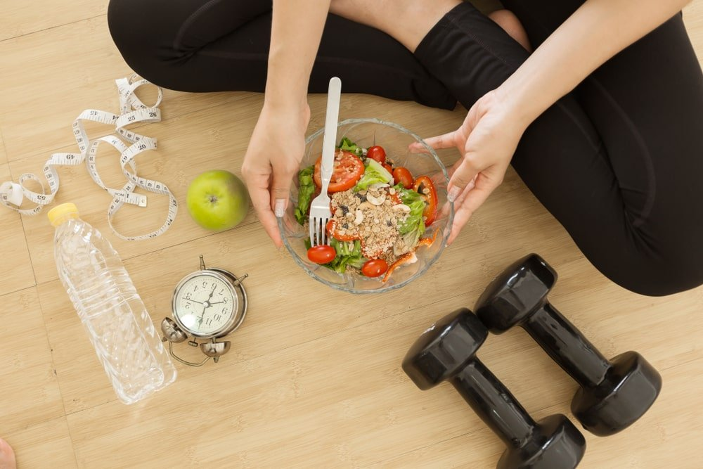 A decision and a small step: All you need for a healthy life