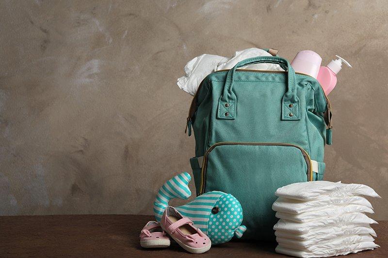 مستلزمات يجب أن تكون في حقيبة طفلك الرضيع