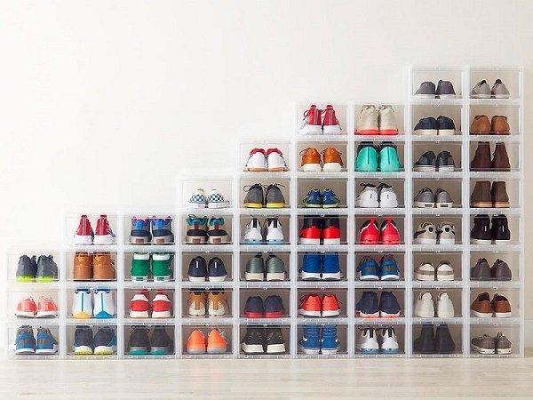 ترتيب الأحذية في المنزل
