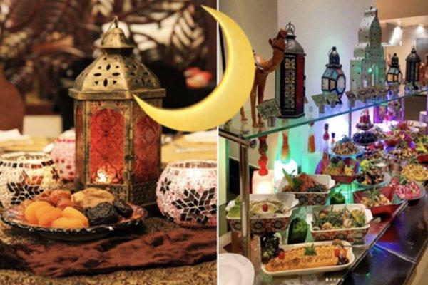 بوفيه إفطار رمضان