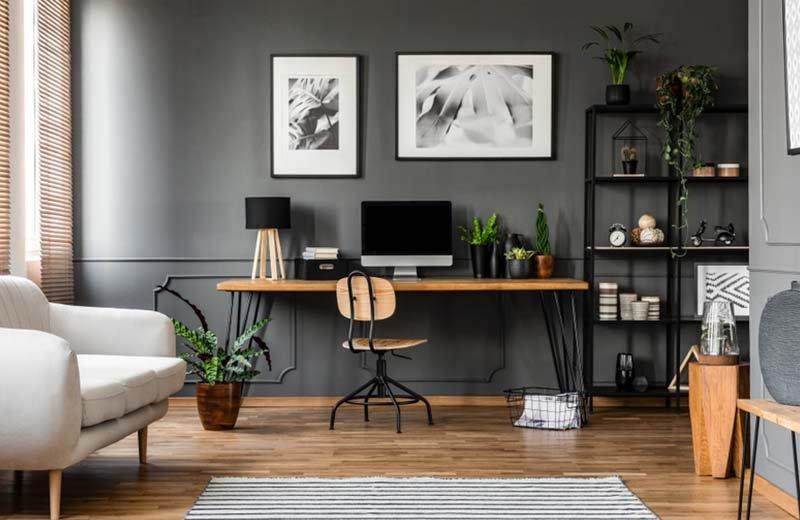 7 أفكار مميزة لديكور مكتبك المنزلي