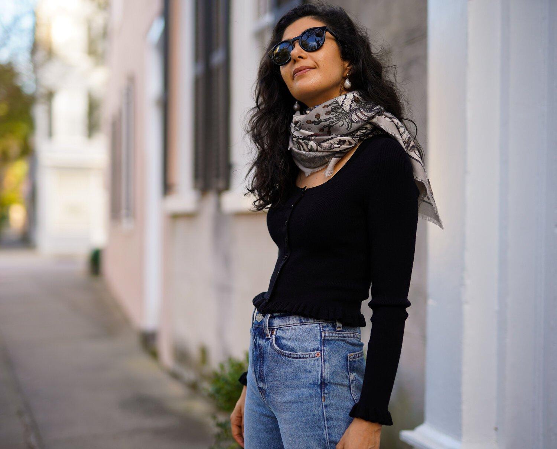 10 طرق مختلفة لارتداء الوشاح