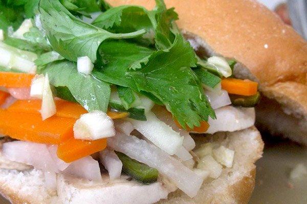 ساندوتش الباغيت الفيتنامي