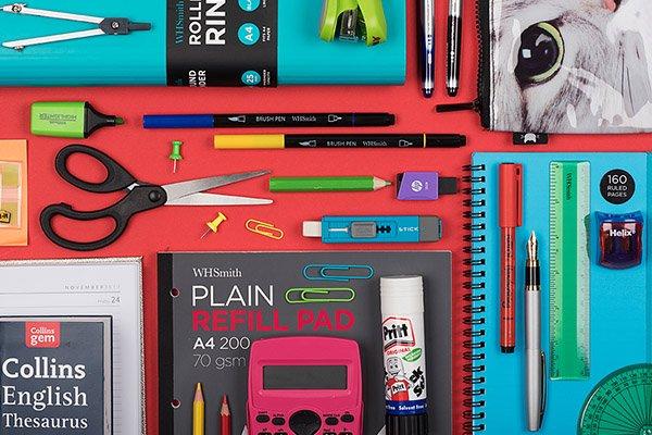 أدوات قرطاسية مدرسية